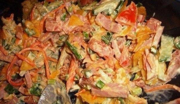Необыкновенно вкусный салат …