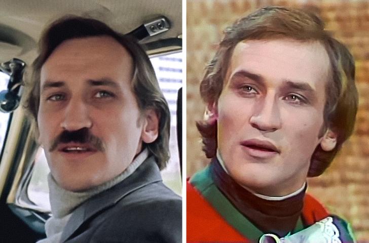 12 российских артистов до того, как обзавелись фирменными усиками и бородой