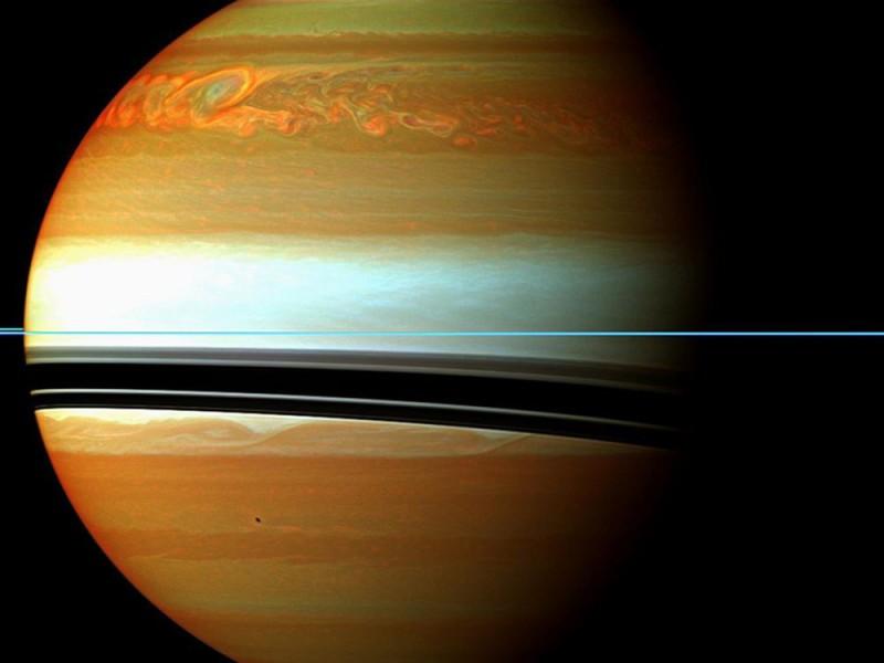 Эпические кадры Сатурна