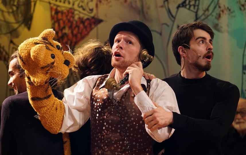 Театральная премьера: В Петербурге английские сказки рассказали под музыку