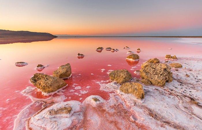 Кояшское солевое озеро. Автор фото: Сергей Анашкевич