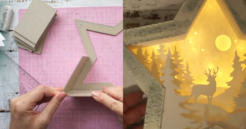Волшебный зимний светильник, который добавит уюта в каждый дом