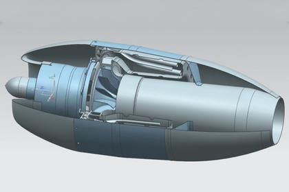 Россия создала оригинальный турбореактивный двигатель