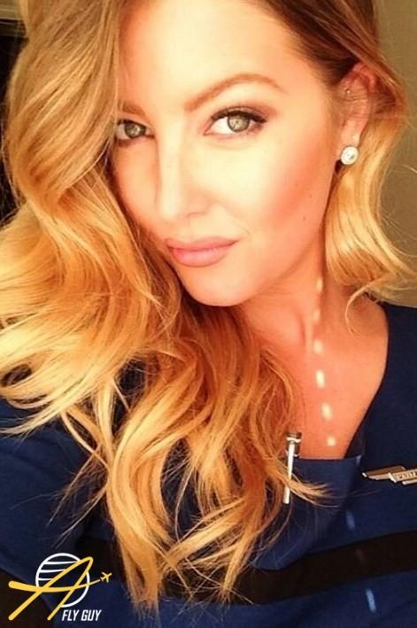 3. США - United Airlines люди, пилоты, стюардессы