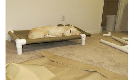 Лежанка для собаки (Diy)
