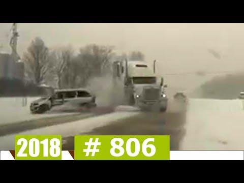 Новые Записи с Авто Видеорегистратора за 02.01.2018 VIDEO № 806