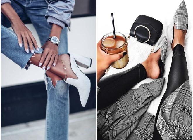 Модная обувь 2018: туфли мюли