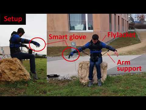 FlyJacket - экзоскелет для управления беспилотником