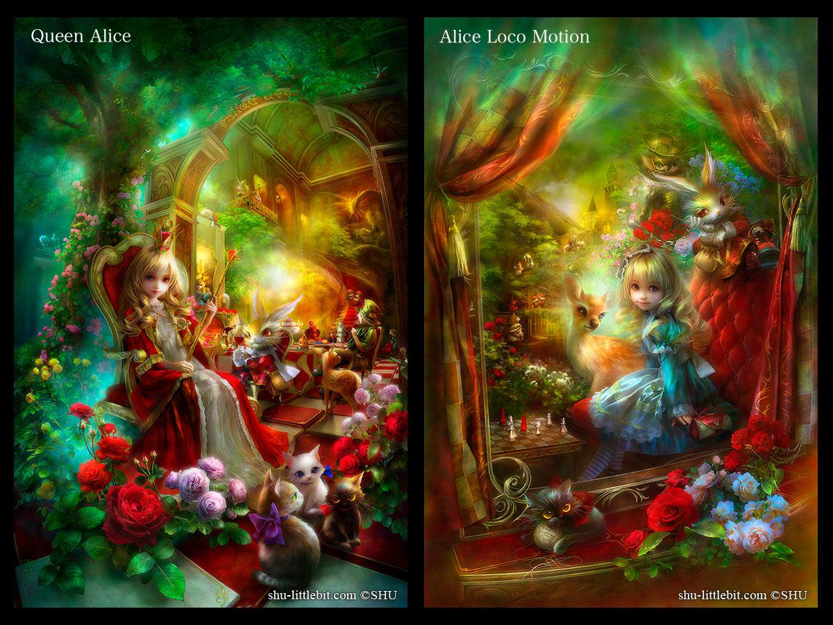 Цифровое искусство в лучших иллюстрациях  красивой галереи