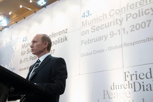 Мюнхенская речь Владимира Путина: 10 лет спустя