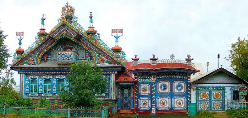 Необыкновенный дом кузнеца Кириллова, фото.