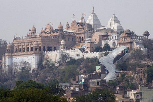 Уникальные Храмы Вриндавана