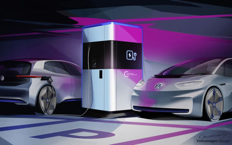 Volkswagen создал «пауэр банк» для электрокаров