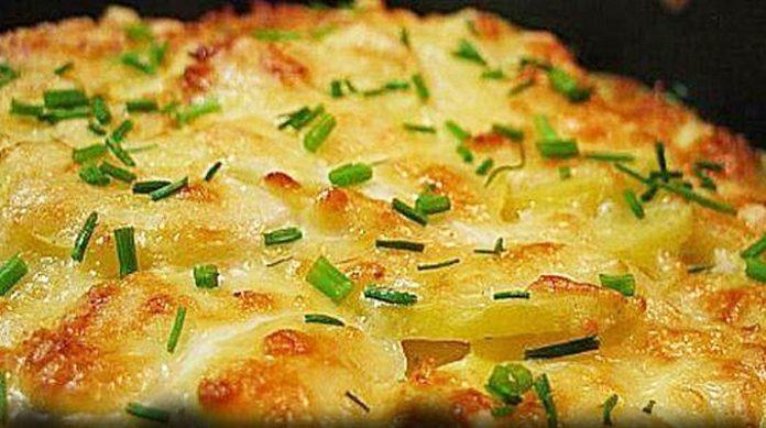 Идеальный картофель, запеченный в сметане