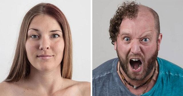 Захватывающие портреты членов семьи, показывающие, насколько сильной может быть семейная ДНК
