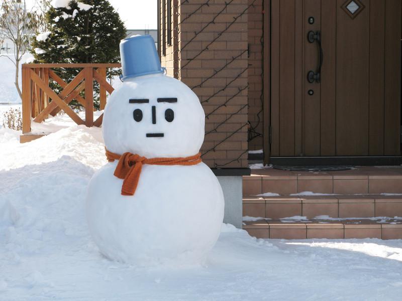 3. В Японии принято лепить снеговиков только из двух шаров. 30 интересных фактов о японии, 30 фактов о японии, интересные факты о японии, япония, япония интересные факты