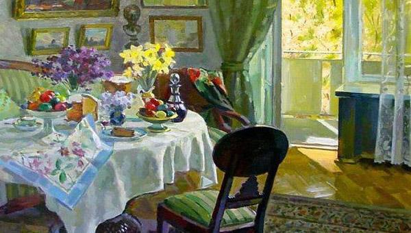 Пасхальный стол в картинах и литературных цитатах