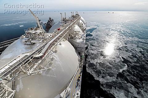 Михельсон назвал первых покупателей газа проекта «Ямал СПГ»