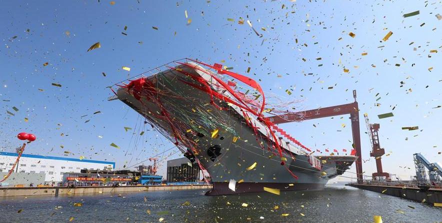 Новости мира: Китай собрал собственный авианосец