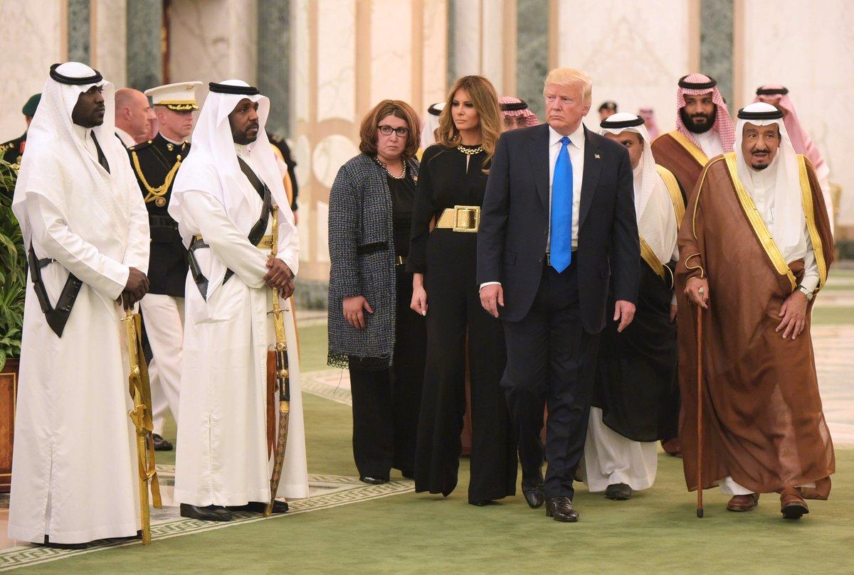 Визит Трампа в Саудовскую Аравию