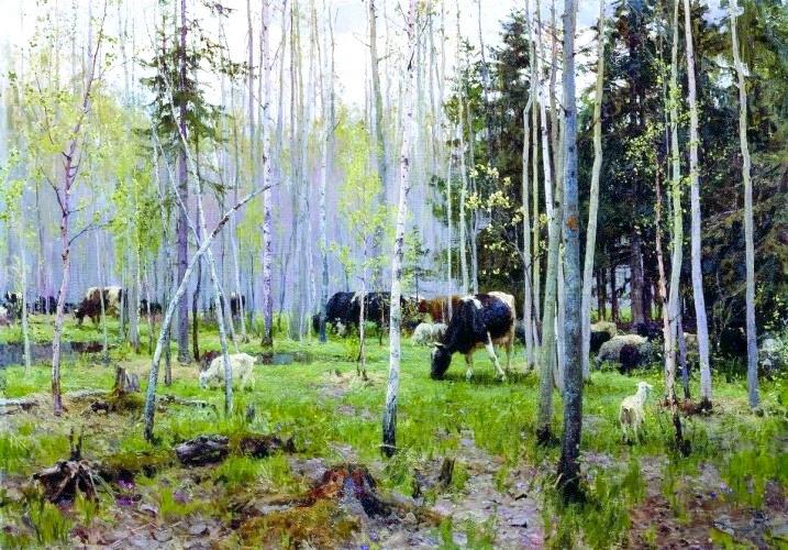 Настоящая красота проста и чиста — картины известнейшего советского пейзажиста Алексея Грицая