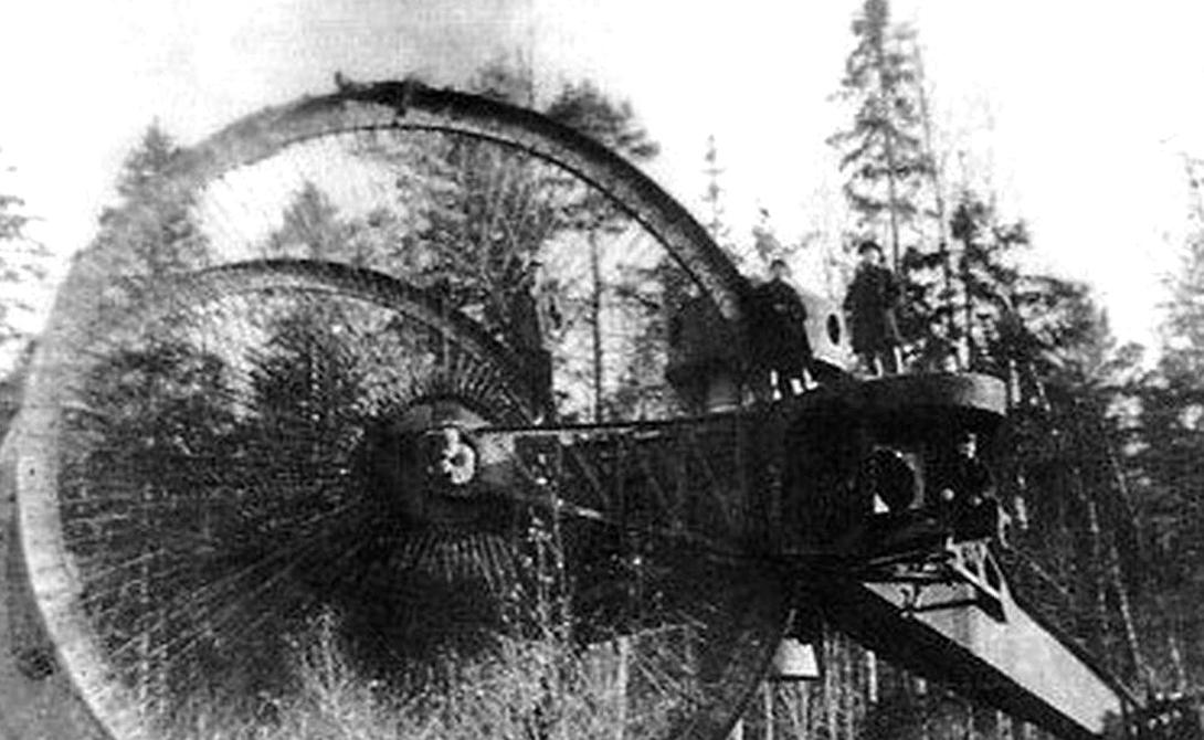 Cамые странные боевые машины в истории