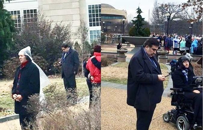 Саакашвили обиделся на украинских журналистов