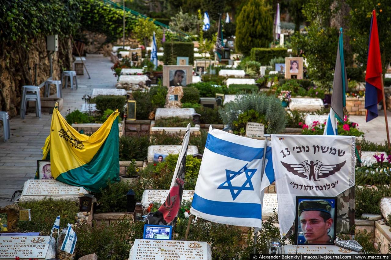 Как хоронят солдат в Израиле