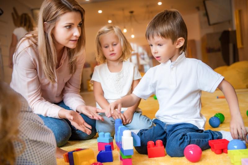 жизнь детей в детском саду