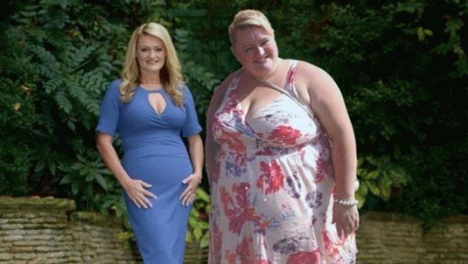 Меню от женщины, похудевшей …