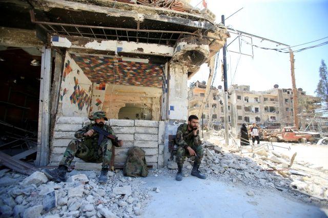 Более тысячи боевиков выведено за сутки из Восточного Каламуна в Дамаске