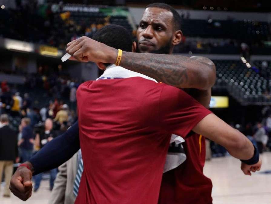 Плей-офф НБА. «Кливленд» сра…