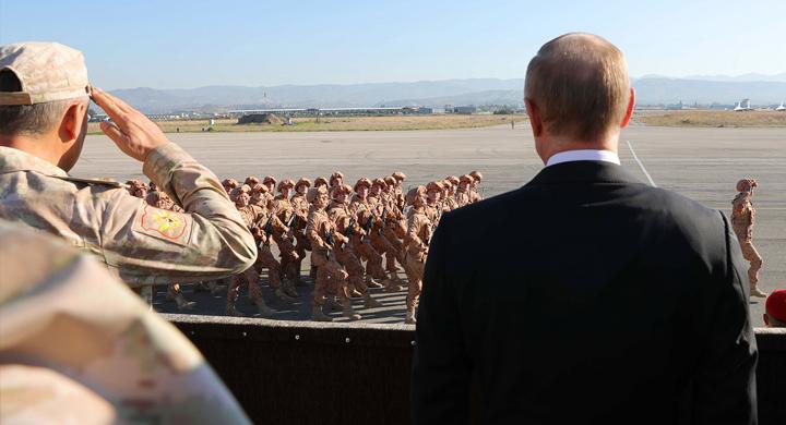 Почему у Запада цель не Асад…