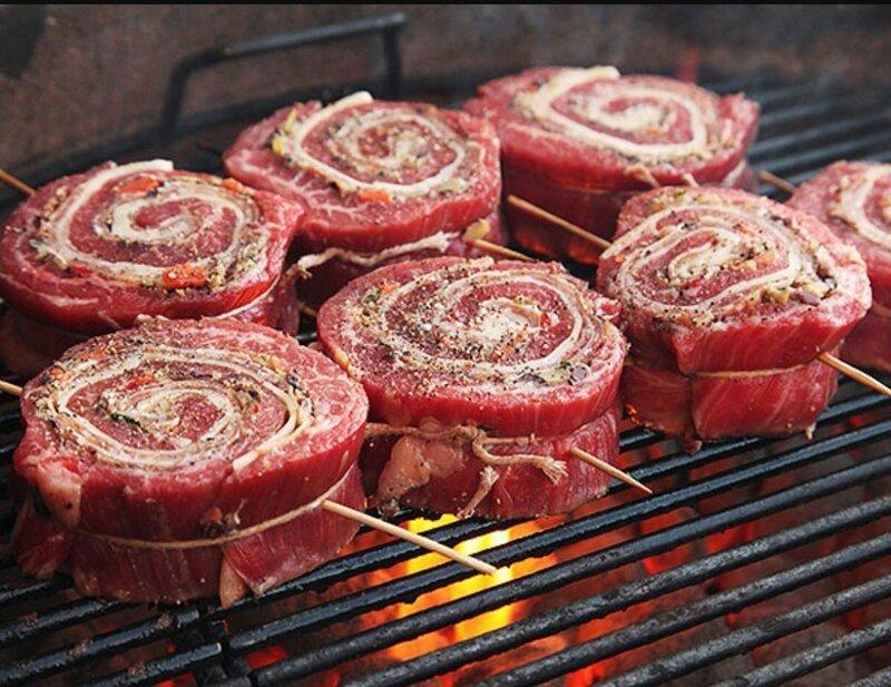 Вот симпатичные и вкусные рулеты для жарки на открытом огне или гриле готовка, еда, идеи, кухня, рулеты