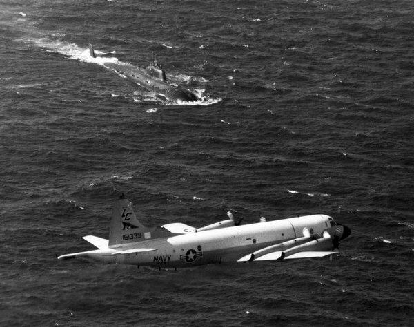 Как наши моряки отучили самолет-разведчик США от имитации атак на подлодку