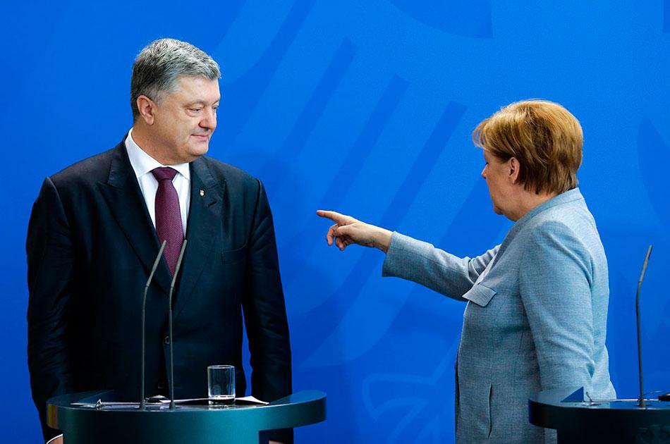 Меркель подсластила пилюлю Порошенко