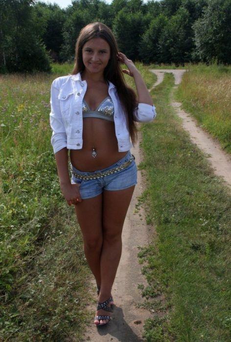 частное фото русских молодых девушек
