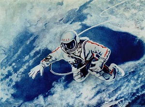 18 марта 1965 года советский космонавт Алексей Леонов первым вышел в открытый космос