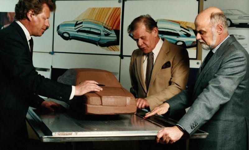 Рождение Mercedes-Benz W124 и первые фото