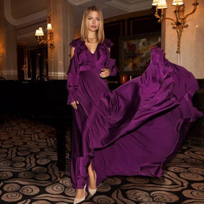Теледива Виктория Боня выпустила коллекцию платьев для мусульманских женщин, но поклонники не оценили