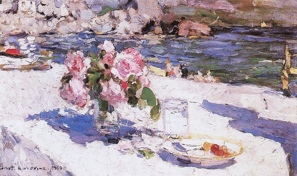 На берегу моря. 1910.jpg