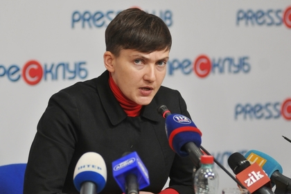 Савченко предложила временно «сдать Крым» для возвращения Донбасса