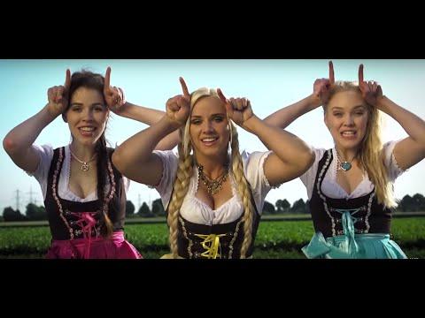 Три немки своей весёлой песенкой докажут вам, что немецкий язык не такой уж и грубый