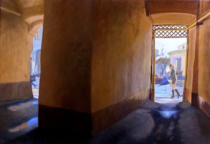 Оптимистичная повседневность картин Филиппа Кубарева