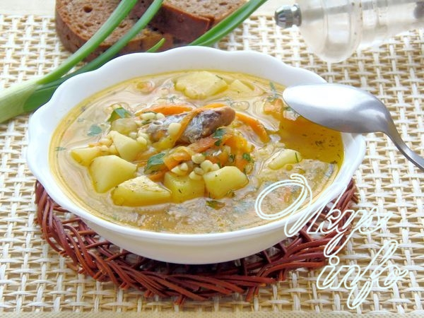 Суп из консервы скумбрия в масле