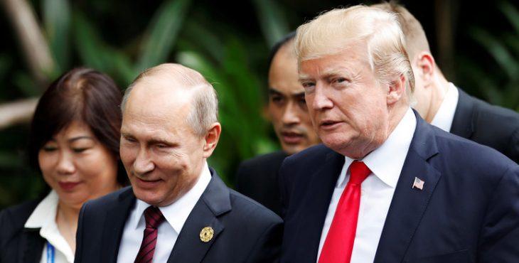HuffPost: пока Трамп остаётся у власти, Россия может не бояться США