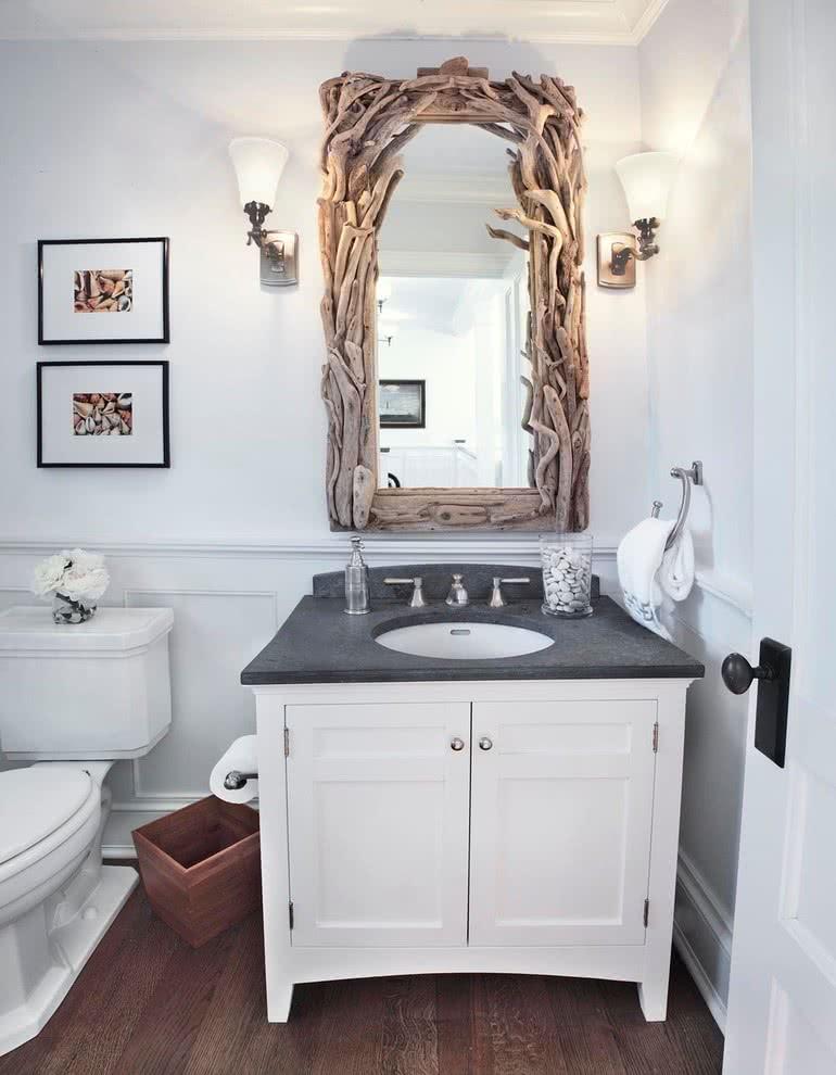 Эко-штрих в ванной