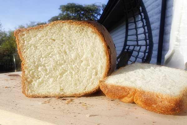 Хлеб формовой (кирпичик) из безопарного теста