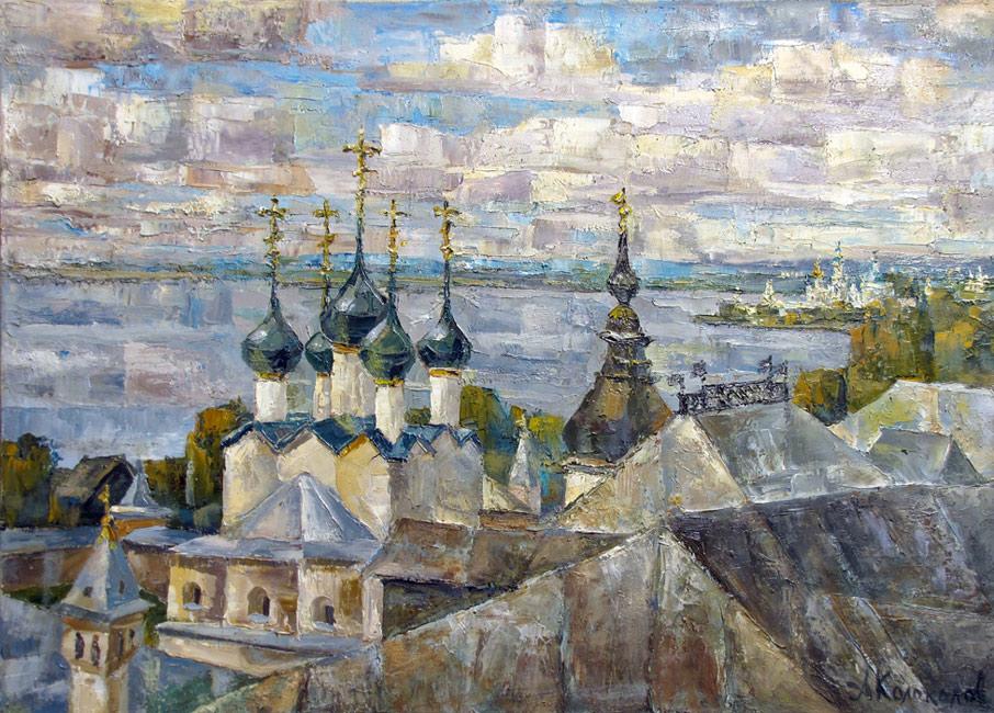 художник  Колоколов Антон,  Ростовские дали