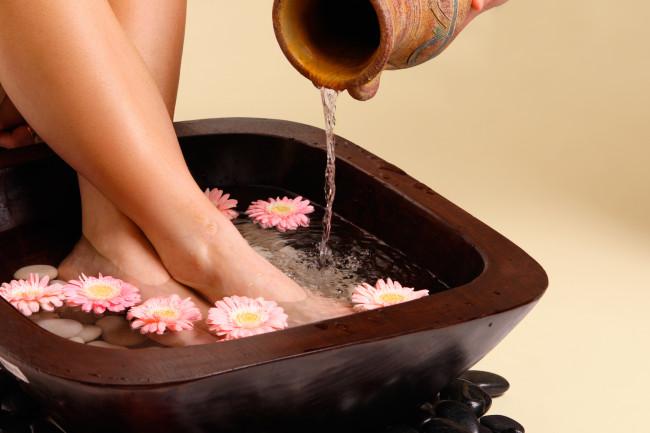 Полезные домашние ванночки для ног